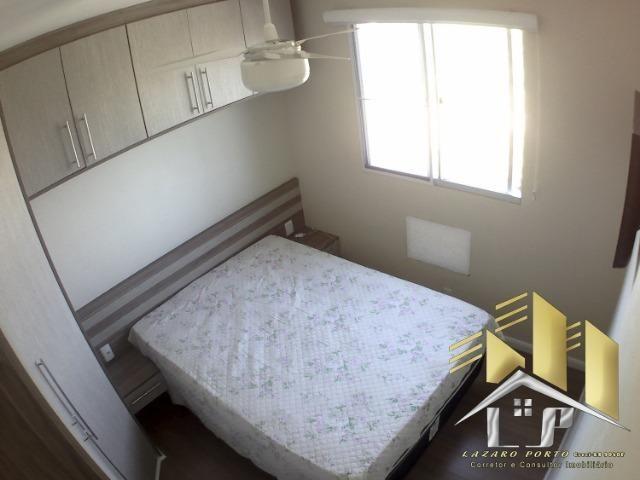 Laz - Apartamento com varanda e com modulados em Manguinhos - Foto 13