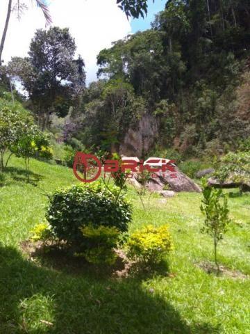 Sítio com terreno de 16.000 m² e cachoeira própria em pessegueiros, teresópolis/rj. - Foto 3