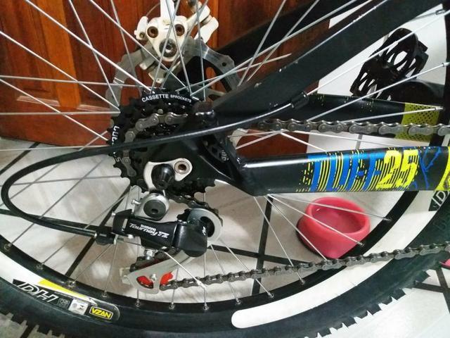 Bicicleta Vikingx nova (Entrego) - Foto 3
