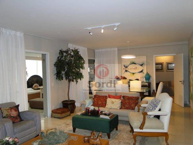 Apartamento com 4 dormitórios à venda, 227 m² por r$ 1.599.000 - jardim botânico - ribeirã
