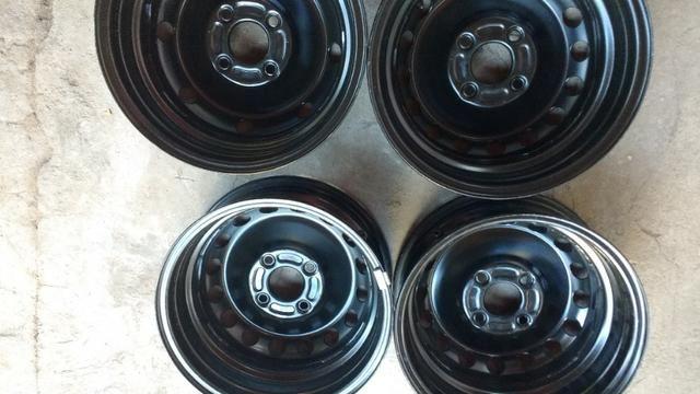 Rodas 14 ford 4x108 novas - Foto 5