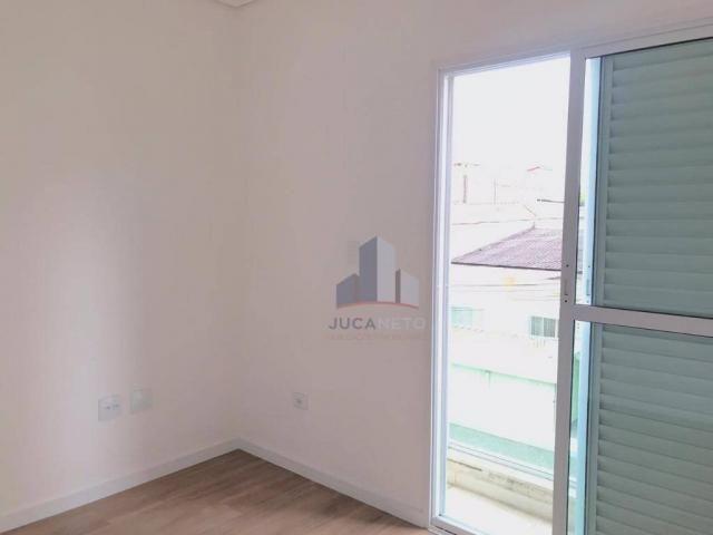 Apartamento com 2 dormitórios para alugar, 68 m² por r$ 1.125/mês - parque são vicente - m - Foto 18