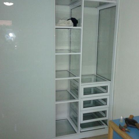 Móveis Projetados Alumínio e Vidro * - Foto 6