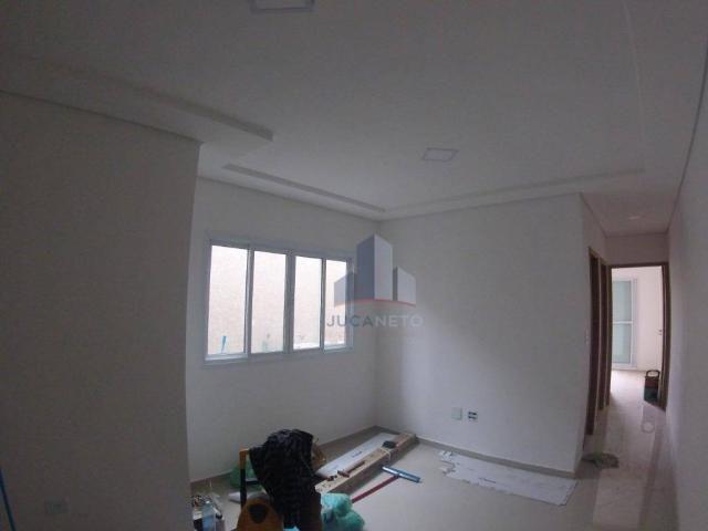 Apartamento com 2 dormitórios para alugar, 68 m² por r$ 1.125/mês - parque são vicente - m - Foto 5