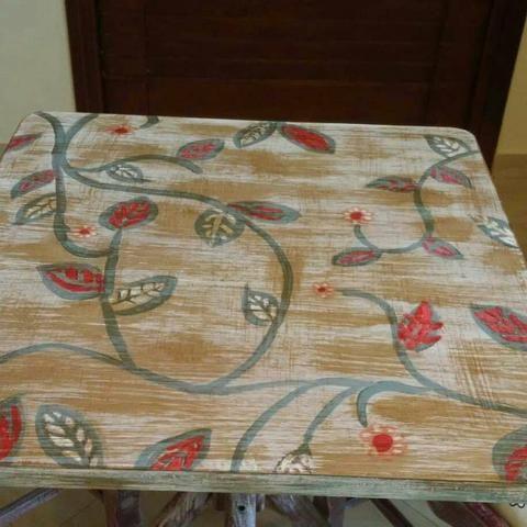 Jg mesa 2 cadeiras repaginado - Foto 3