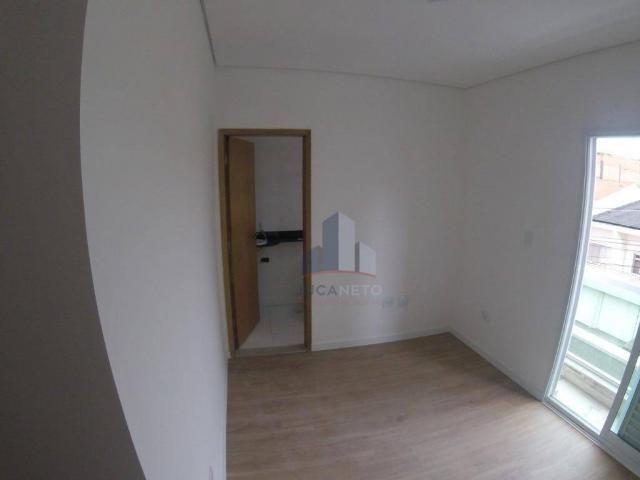 Apartamento com 2 dormitórios para alugar, 68 m² por r$ 1.125/mês - parque são vicente - m - Foto 15