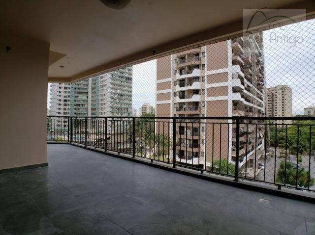 Apartamento com 2 quartos para alugar, 101 m² - barra da tijuca - rio de janeiro/rj - Foto 2