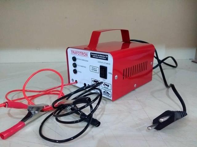 Carregador de bateria Automotivo 12v até 300ah Novo com Garantia