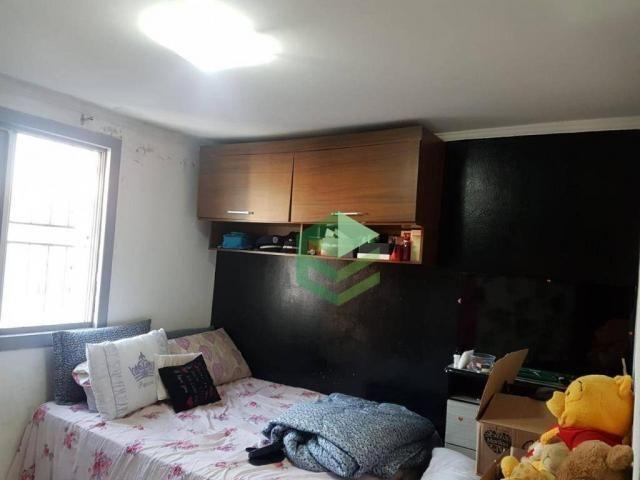 Apartamento com 2 dormitórios à venda, 53 m² por R$ 112.000 - Santa Terezinha - São Bernar - Foto 5