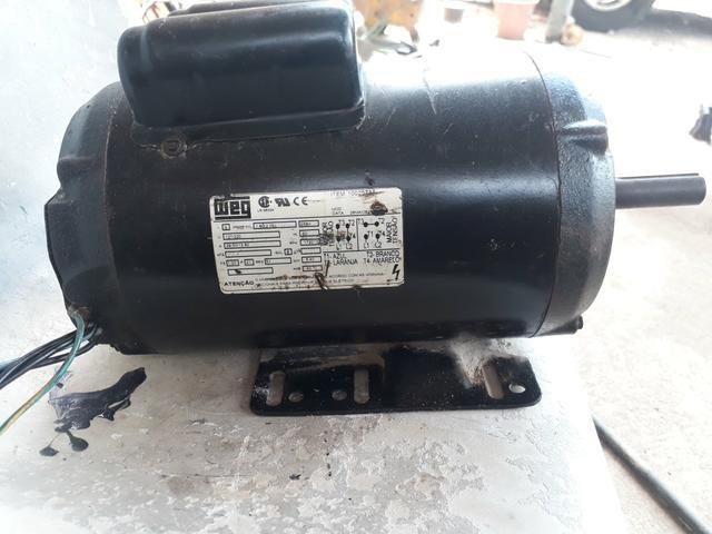 Motor elétrico monofásico