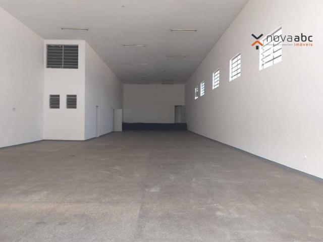 Salão com energia trifásica para alugar, 350 m² por R$ 5.000/mês - Jardim Ana Maria - Sant - Foto 2