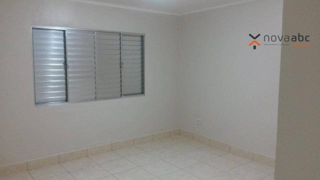 Apartamento com 1 dormitório para alugar, 58 m² por R$ 1.300/mês - Vila Floresta - Santo A - Foto 10