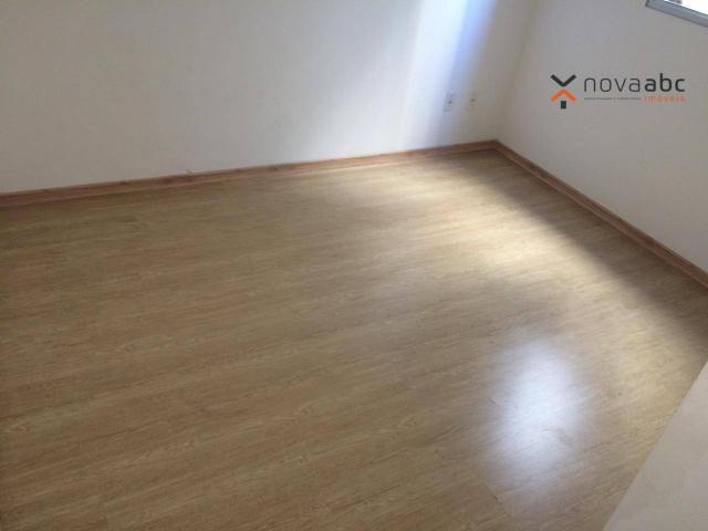 Apartamento com 2 dormitórios para alugar, 47 m² por R$ 1.300/mês - Vila Homero Thon - San - Foto 8
