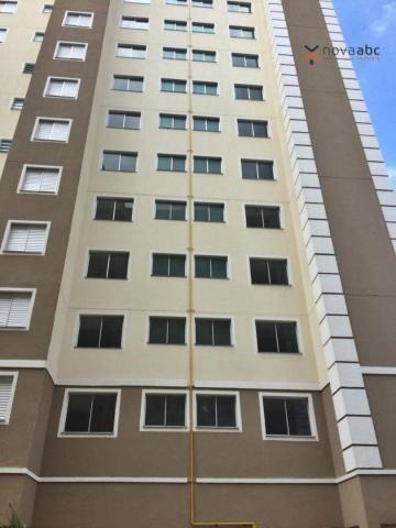 Apartamento com 2 dormitórios para alugar, 47 m² por R$ 1.300/mês - Vila Homero Thon - San