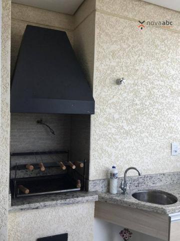 Apartamento com 2 dormitórios para alugar, 63 m² por R$ 2.100/mês - Campestre - Santo Andr - Foto 17