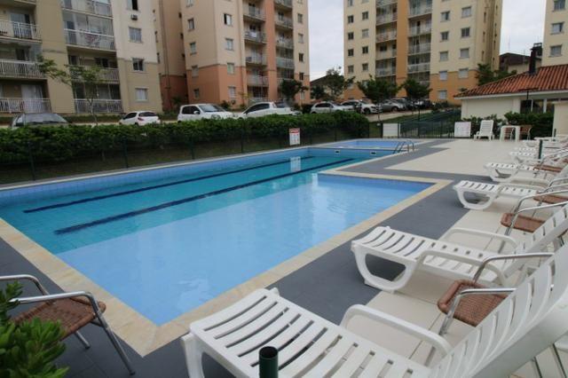 Condomínio Club - Recanto Verde 57m2 2 dormitórios churrasqueira na sacada