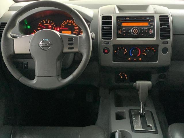 Nissan Frontier LE 2.5 4x4 Diesel Aut 2008/2009 - Foto 13