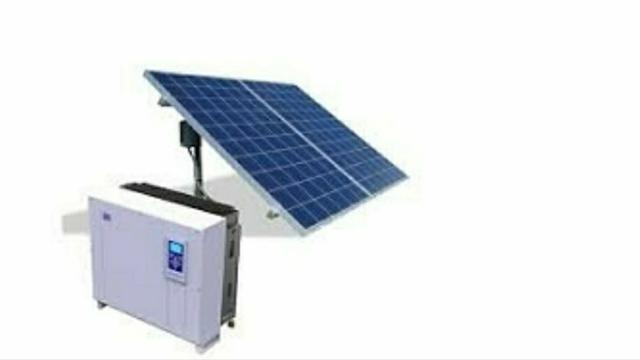 Kit completo de energia solar de 1,36 kWp