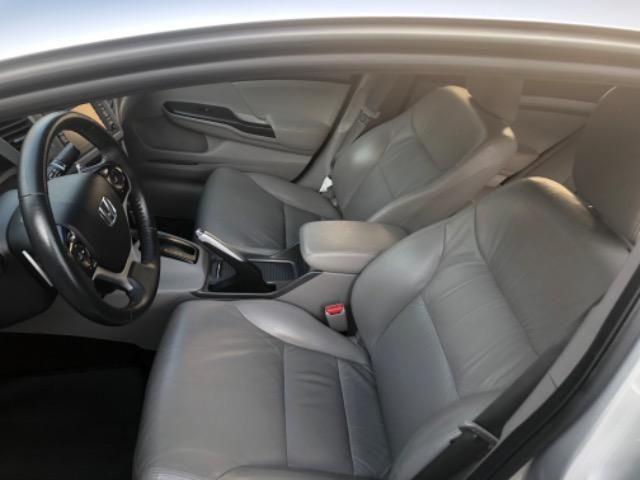 Honda CIvic 2012- Modelo EXS mais Completo com Teto Solar e Banco de Couro - Foto 8