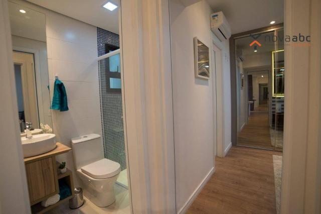Apartamento com 2 dormitórios e varanda gourmet para alugar, 70 m² em condomínio completo  - Foto 7