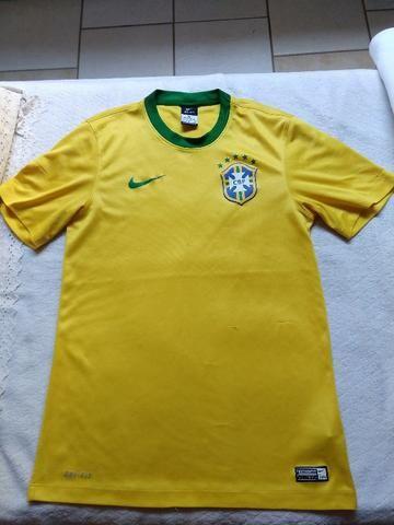 Camiseta do Brasil Nike tamanho P