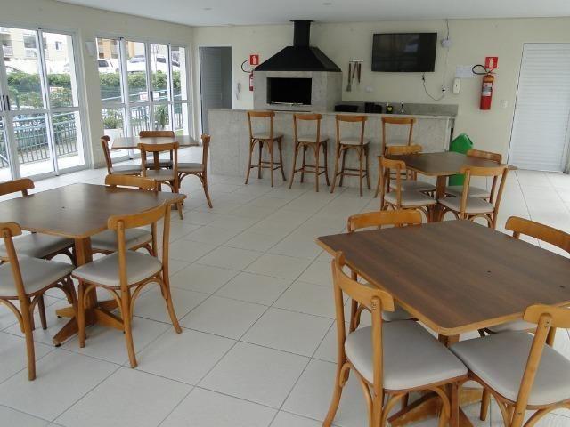 Condomínio Club - Recanto Verde 57m2 2 dormitórios churrasqueira na sacada - Foto 16