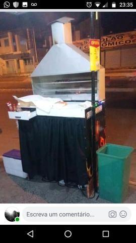 Vendo churrasqueira R$ 500,00 - Foto 2