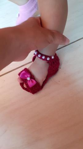 Satinhos de crochê - Foto 5