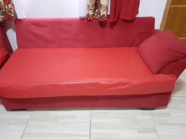 Sofá lateral separado vermelho - Foto 2