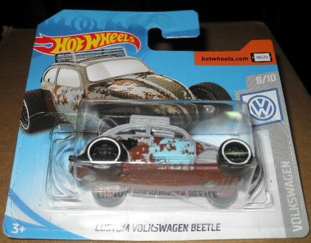 Miniatura fusca hotwheels -novo na embalagem