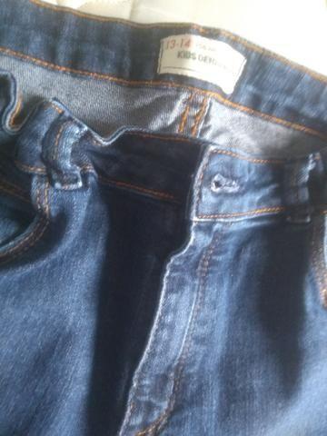 Calça jeans Tam 13/14 - Foto 3