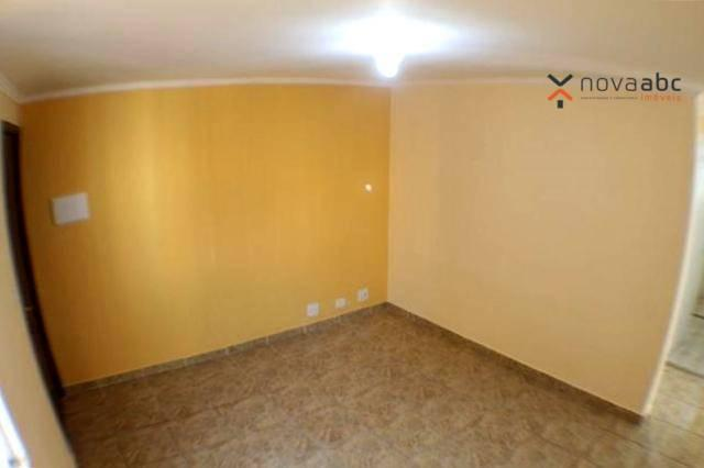 Apartamento com 2 dormitórios para alugar, 50 m² por R$ 1.020/mês - Vila Camilópolis - San - Foto 4