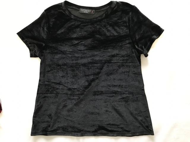 Blusas Camisetas Veludo - Foto 4
