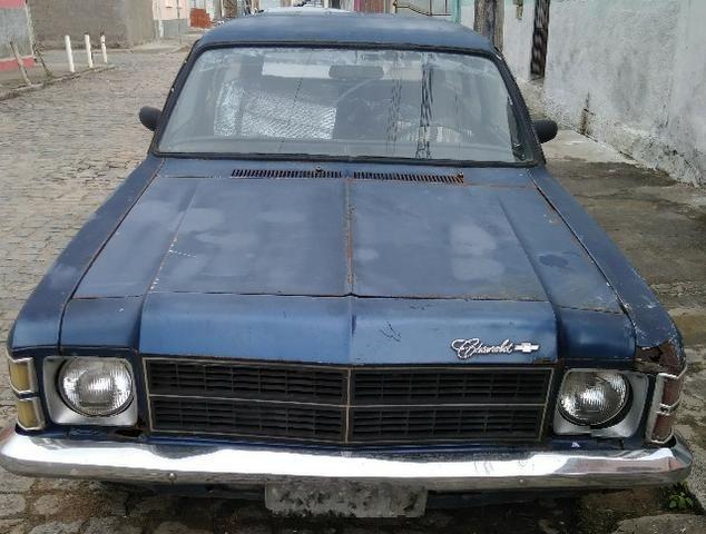 GM Chevrolet Caravan 79 4 cilindros gasolina