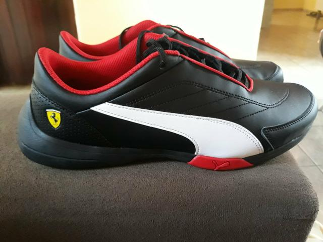 Tênis Puma Scuderia Ferrari kart cat lll