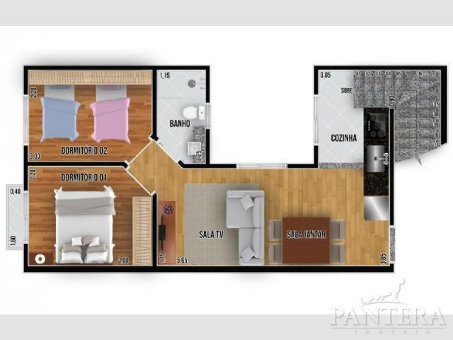 Apartamento à venda com 2 dormitórios em Santa maria, Santo andré cod:56269 - Foto 10