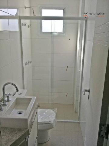 Apartamento com 3 dormitórios para alugar, 85 m² por R$ 2.500/mês - Jardim - Santo André/S - Foto 10