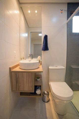 Apartamento com 2 dormitórios e varanda gourmet para alugar, 70 m² em condomínio completo  - Foto 10