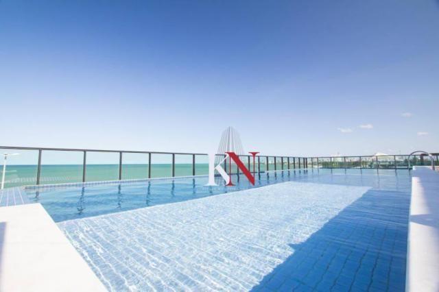 Apartamento com 3 qts, 2 stes à venda, 113 m² por r$ 753.301 - intermares - cabedelo/pb - Foto 9