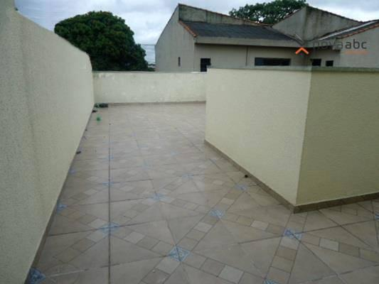 Cobertura com 2 dormitórios para alugar, 48 m² por R$ 1.400/mês - Parque Novo Oratório - S