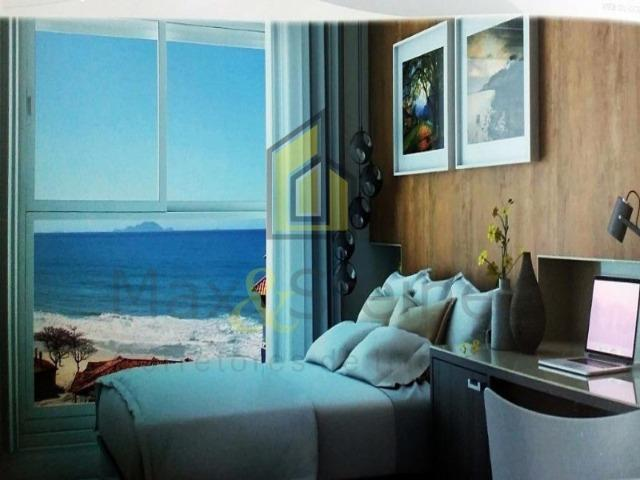 Ms47- para morar o Investir! excelente Apto 01 dorms a 50mts da praia dos Ingleses - Foto 7