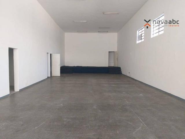 Salão com energia trifásica para alugar, 350 m² por R$ 5.000/mês - Jardim Ana Maria - Sant - Foto 3