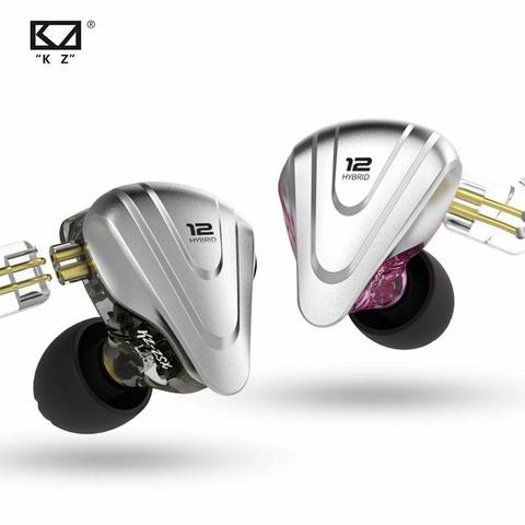 Fone Zsx In-Ear 12drives para retorno de palco kz profissional - Foto 4