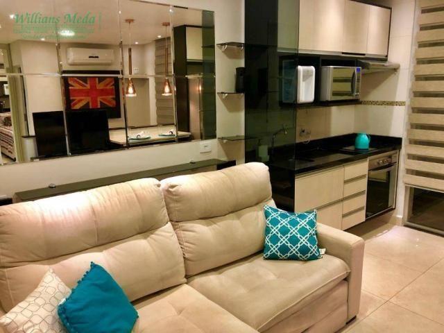 Studio com 1 dormitório para alugar, 36 m² por r$ 1.950/mês - vila augusta - guarulhos/sp - Foto 4