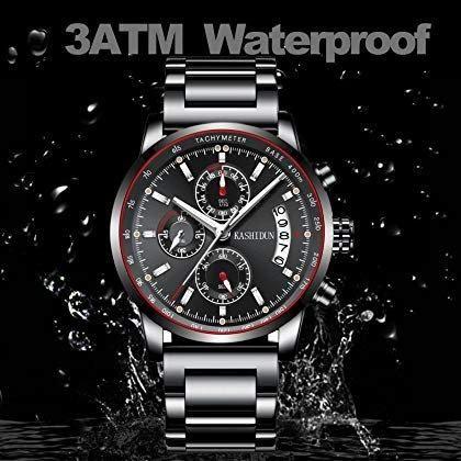 cb78cd6e062 Relógio Kashidun Casual Esportivo - Modelo 888-qhy- Original - pra vender  rápido
