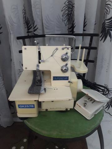 Vendo máquina de costura galoneiea portátil superstar GK257B