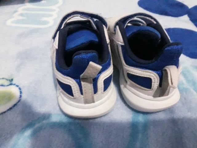 4f4d847737 Tênis Infantil Adidas Altasport Cf Velcro - Branco e Azul - Artigos ...