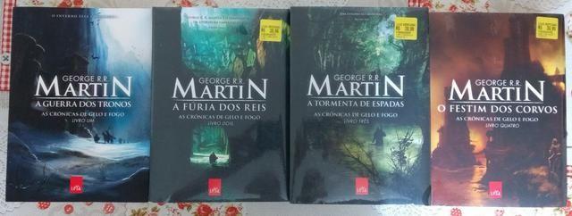 ce8189a1a Coleção de Livros Game of Thrones - Livros 1 à 4 - Livros e revistas ...