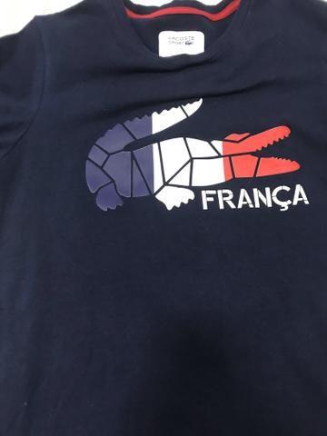 dff7a24d5c213 Camiseta Lacoste tamanho m só venda - Roupas e calçados - Jardim 9 ...