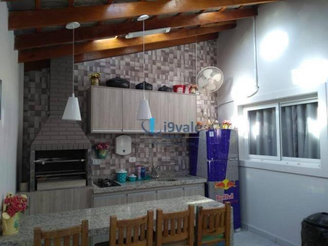 Linda casa com 3 dormitórios à venda, 86 m² por r$ 425.000 - jardim santa maria - jacareí/ - Foto 20